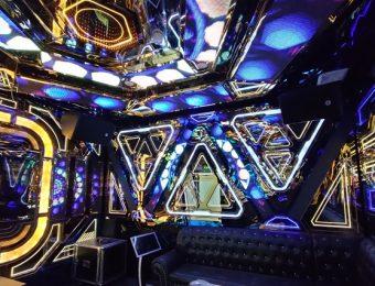Mẫu phòng karaoke INOX đẹp thiết kế thi công siêu Rẻ